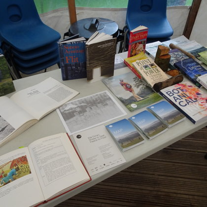 Material of Land -  Contextual Books and leaflets