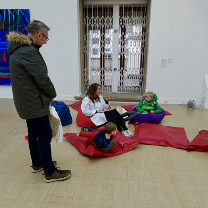 Art Doctors - Listening and tlaking with younger audiences