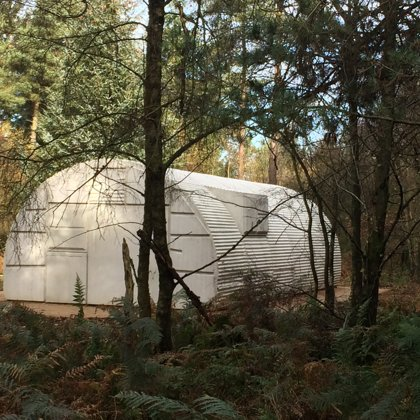 Nissan Hut - Rachel Whiteread at DalbyForest